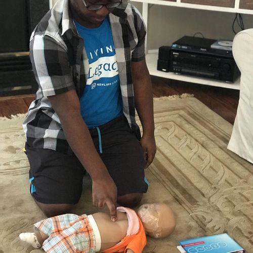 Heartsaver - Infant Skills Training