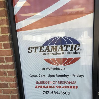 Steamatic of Va. peninsula Williamsburg, VA Thumbtack