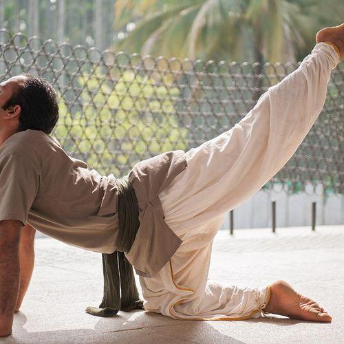 Scenes from Isha Hatha Yoga School in India