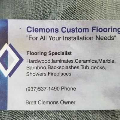 Avatar for Clemons Custom flooring