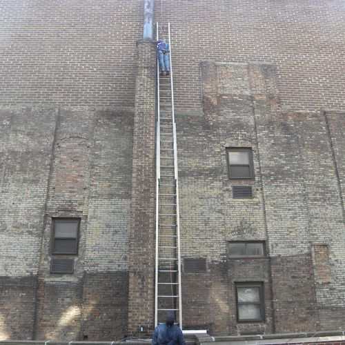 REPAIR WORK AT THE NYC FIRE DEPT.