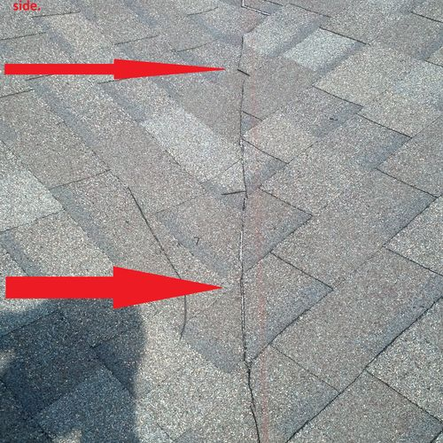 New Construction Roof not installed correctly