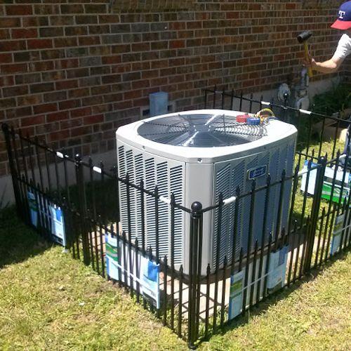Replacing AC condenser