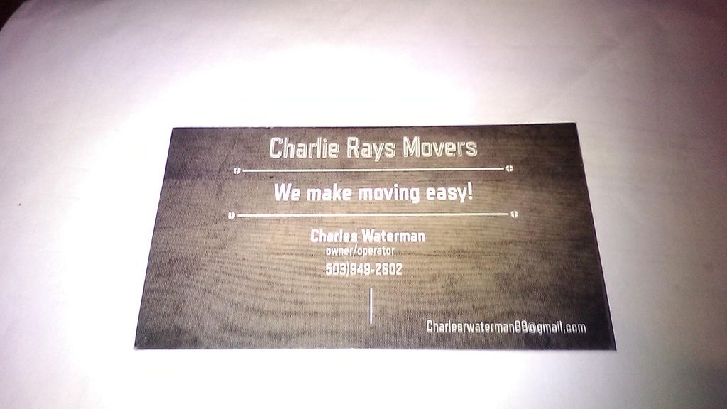 Charlie Ray's Movers