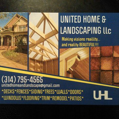 Avatar for United Home & Landscaping LLC Robertsville, MO Thumbtack