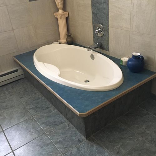 This is a bathroom I had to clean.