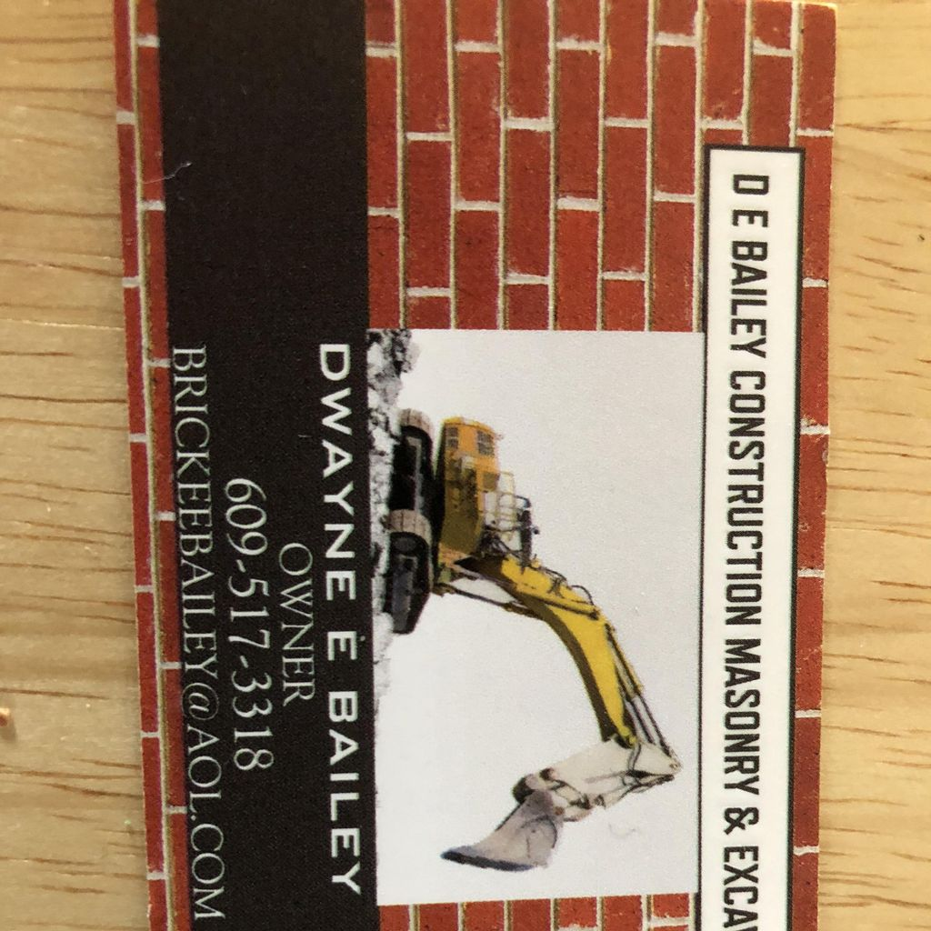 D E Bailey construction LLC