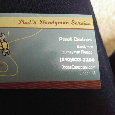 Avatar for Pauls handyman service Linden, MI Thumbtack