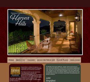 website for custom home builder