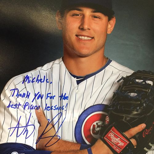 Anthony Rizzo was a fantastic student of mine.