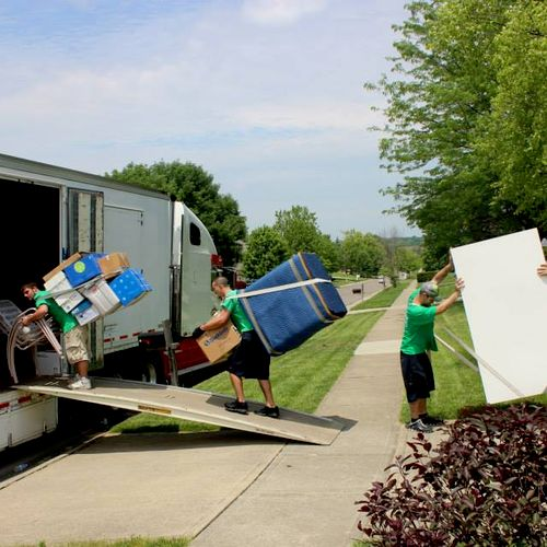 If your looking for a low budget or cheap mover, you'll never see this.  Trust us, it's worth a couple extra dollars on the hour to get the job done that much faster.
