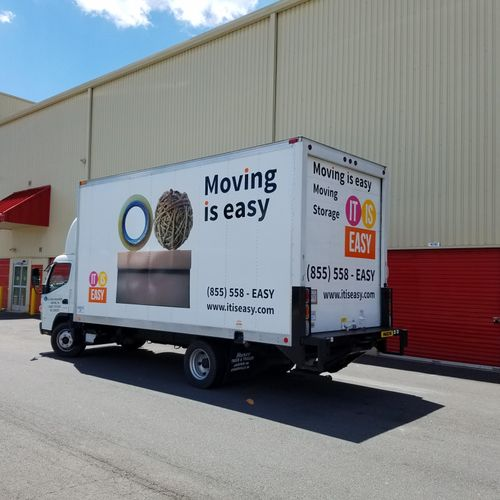 Moving is Easy truck for local service in DC area