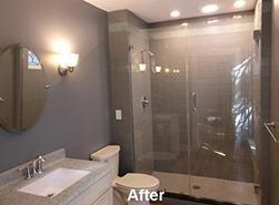 After shower remodel