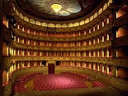 Theater I performed at in Italy
