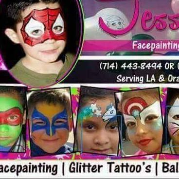 Avatar for Jessica's *Facepainting  *Glitter Tattoo's & Balloon Twisting Fun for any Occasion  Party Rental & Balloon Decor Fullerton, CA Thumbtack