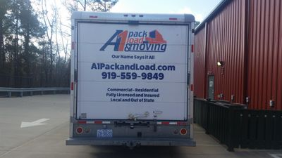 Avatar for A1 Pack Load and Moving Raleigh, NC Thumbtack