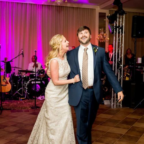 Your first dance will be comfortable and joyous!