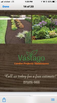 Avatar for Vastago Landscaping Inc Ashburn, VA Thumbtack