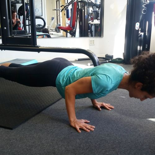 Learn pushup form and then take it up a notch