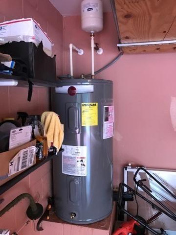 Water Heater Install 2017