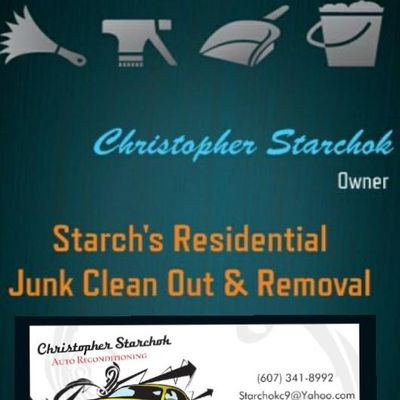 Avatar for Starch's Junk Clean Out & Removal + Odd Jobs Endicott, NY Thumbtack