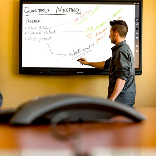 ***Commercial Install*** Conference Room Touch Board