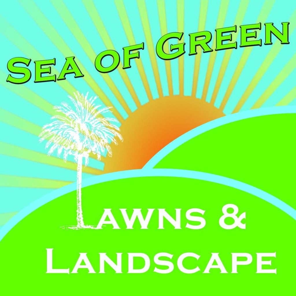 Sea of Green Lawns and Landscape