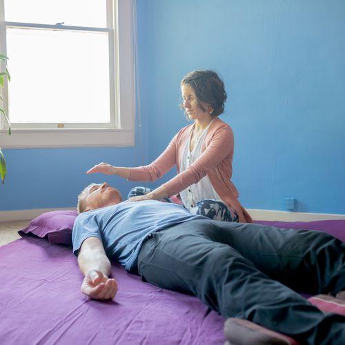 Reiki healing promotes health