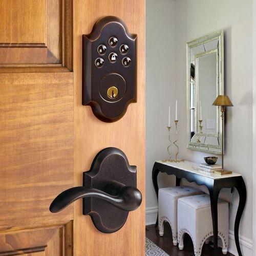 Keypad Lock in Oil Rubbed Bronze