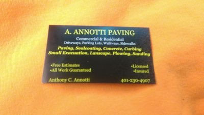 Avatar for A.Annotti Paving Pawtucket, RI Thumbtack