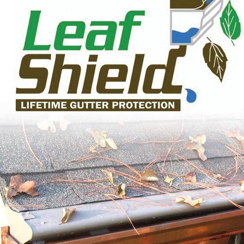 Leaf Shield Lifetime Gutter Protection