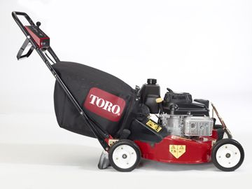 This is the size of lawn mowers we use.  Only small mower to protect you lawn and property