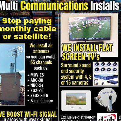Avatar for Multi-Comminications Installs Inc.