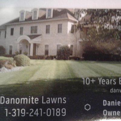 Avatar for Danomite Lawns Cedar Rapids, IA Thumbtack