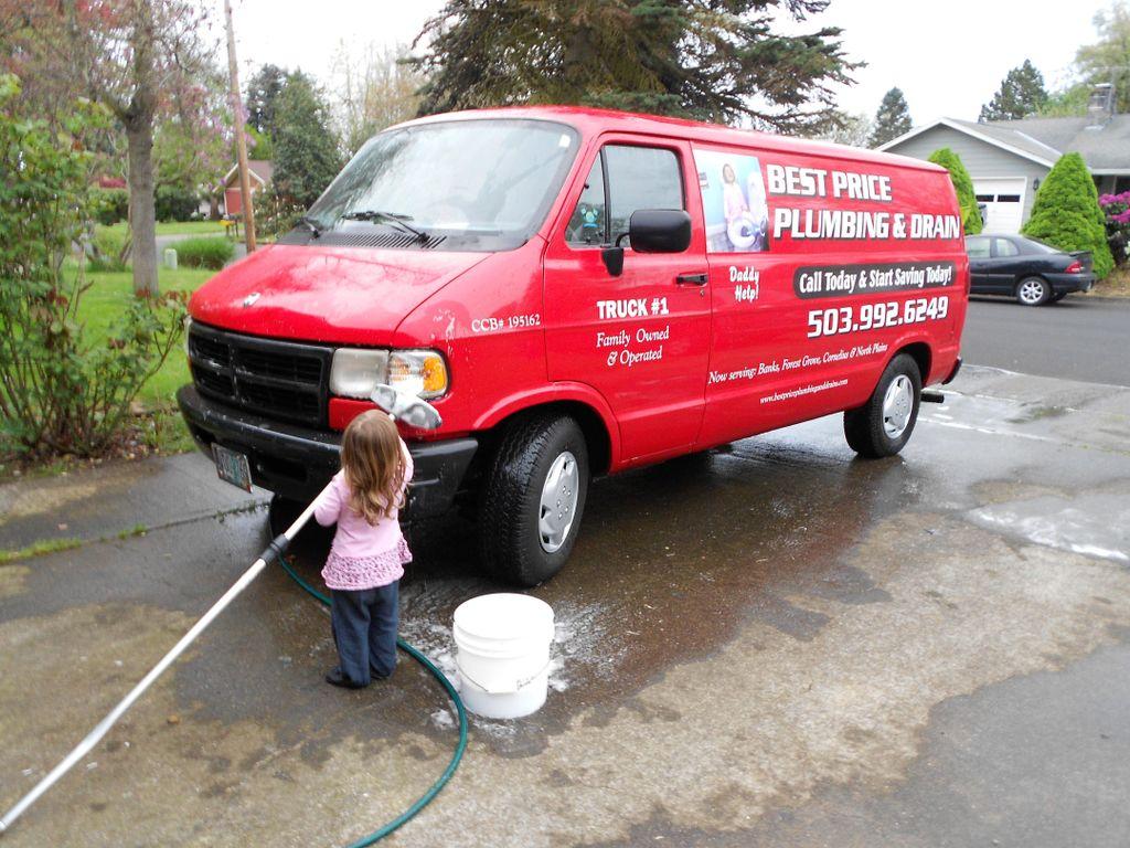 Best Price Plumbing and Drain LLC, CCB #206235