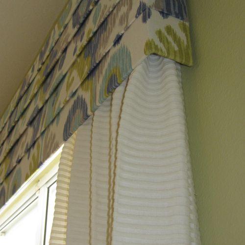 Detail shot of Window Treatment