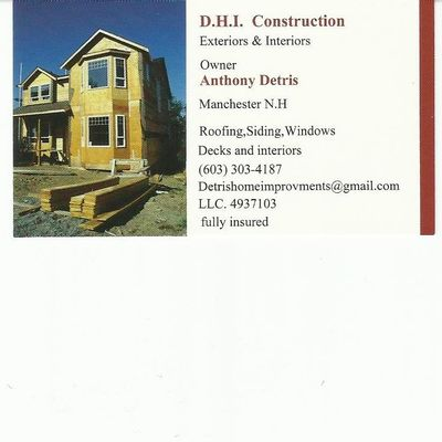 Avatar for DHI Construction Manchester, NH Thumbtack