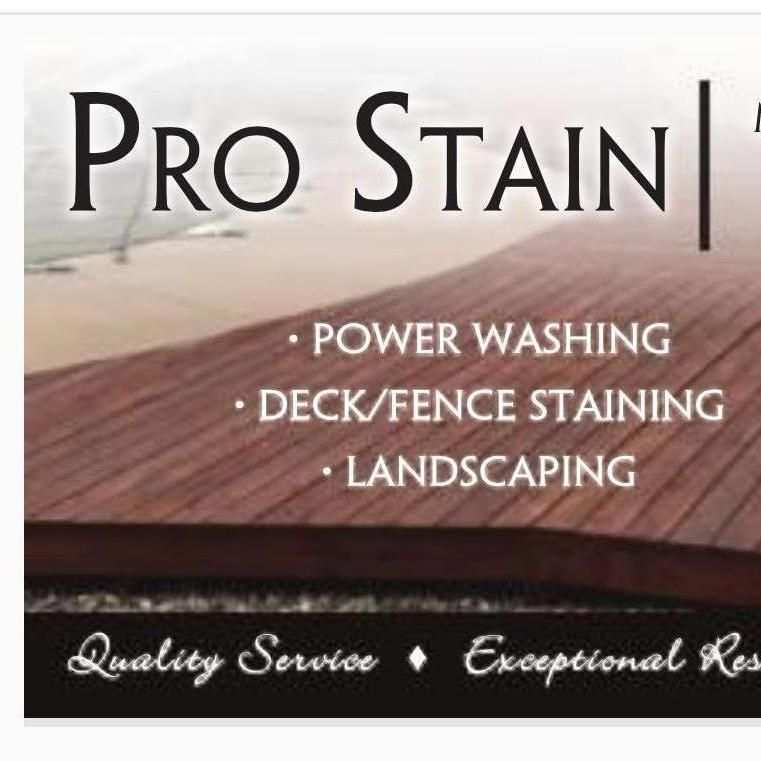 Pro Stain services