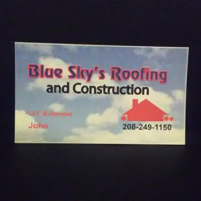 Avatar for Blue Sky's Roofing and Construction Caldwell, ID Thumbtack
