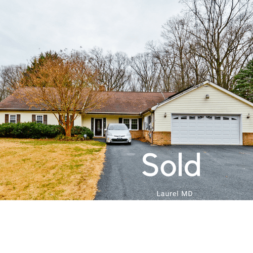 Laurel MD sold in less then 30 days and over asking price