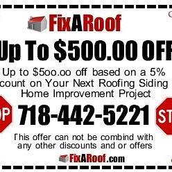 Fix a roof