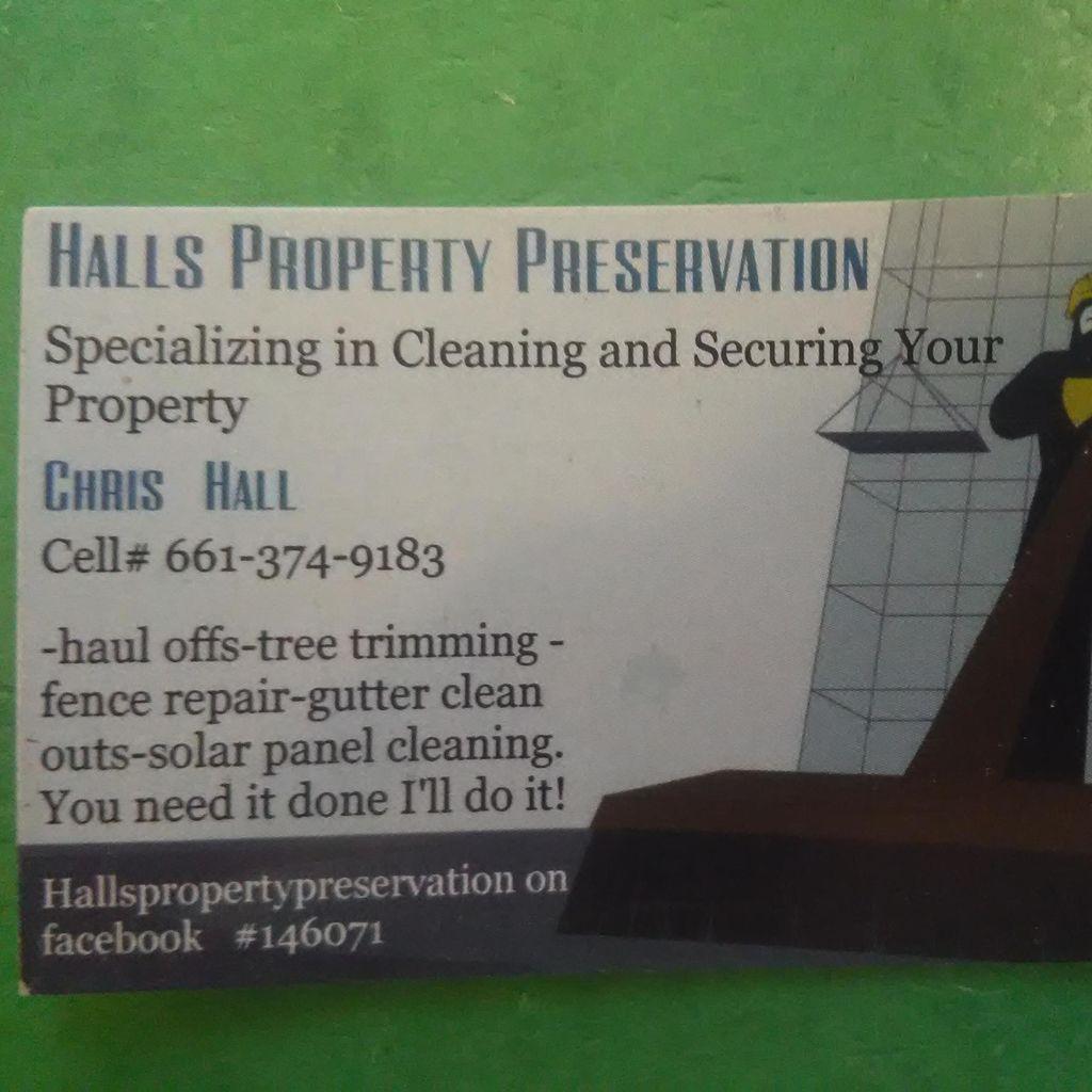 HALL's property preservation