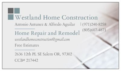 Westland Home Construction Salem, OR Thumbtack