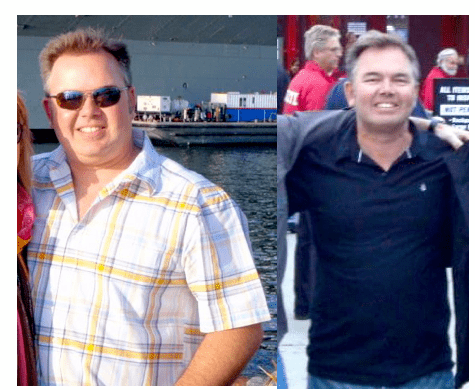 Erik lost 80 pounds and has kept it off!