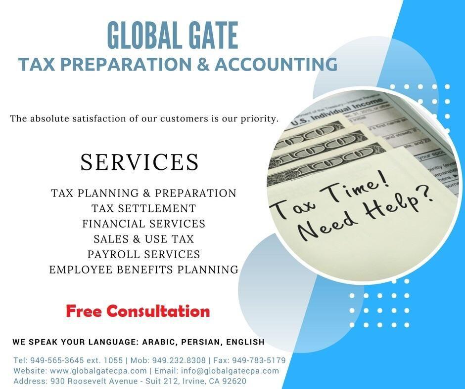 Global Gate Tax , Accounting ,Bookkeeping