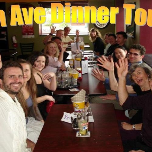 Our famous dinner tour & live band nights! Bring friends or come on your own to break bread with new ones!