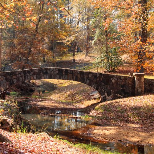 Stone Bridge, Flat Rock Park, Columbus, Georgia