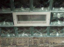 Block Window Install