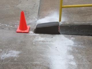 Ramp Repair at Warehouse