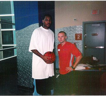I Trained Carmelo Anthony when he was playing for the Denver Nuggets & he would come to Los Angeles for work or play.